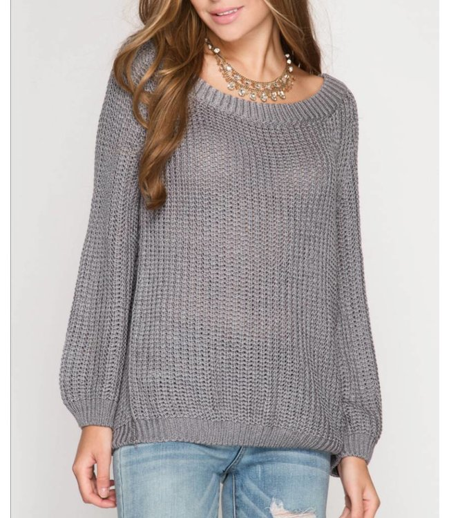 She&Sky Pullover Sweater 5246