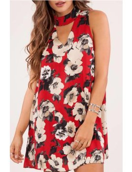 Floral Shift Dress 22209