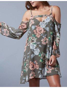Cold Shoulder Dress 71587