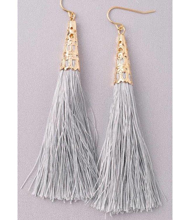Tassel Earrings 1026