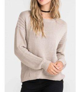 Lush Open Back Sweater 13112