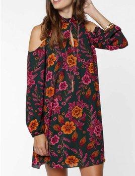 Mock Neck Dress 7851