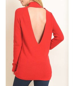 Le Lis Open Back Sweater 1263