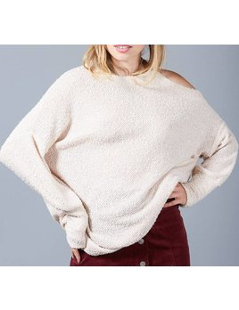 One Cold Shoulder Sweater 33265
