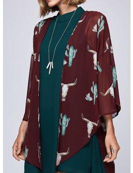 Sheer Kimono 500009