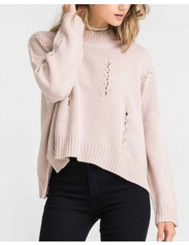 Stitched Sweater 13145