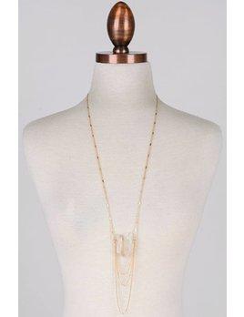 Tri-Stone Necklace 11521