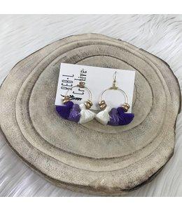 REBL Creative Chubby Tassel Purple Ombre