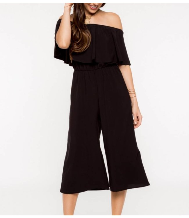 Off the Shoulder Jumpsuit 6894