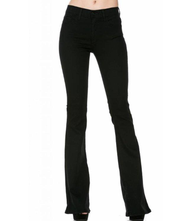 02 Denim Black Flare Jean 30019