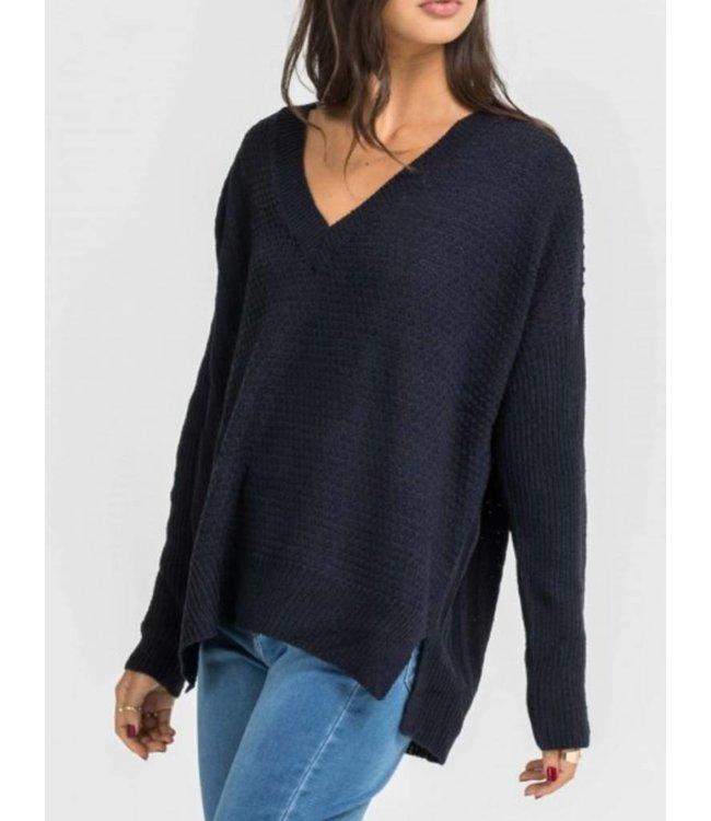 Lush V-Neck Sweater 12782