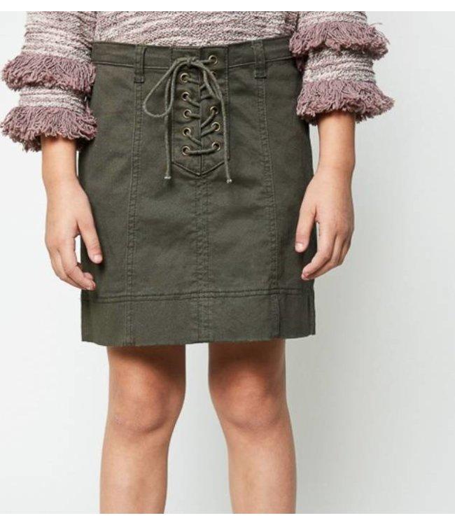 Kids Army Skirt 2078