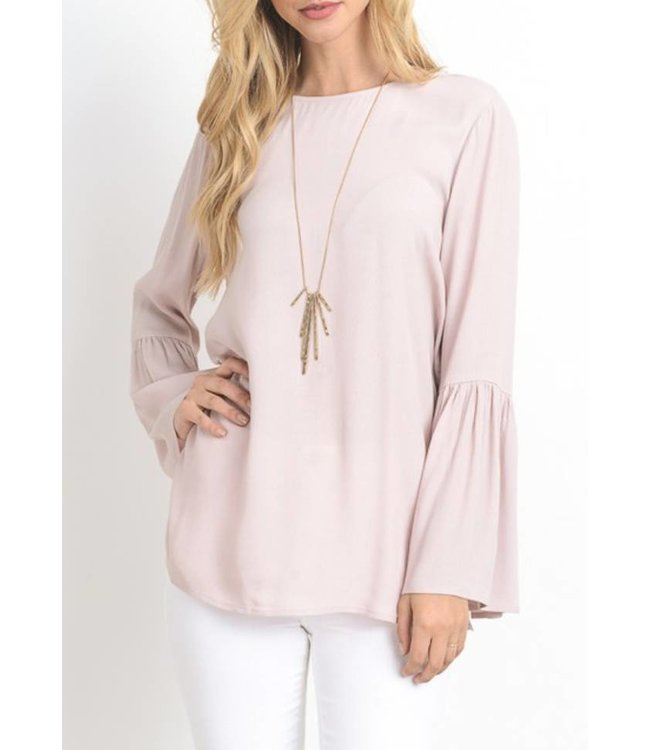 Bell Sleeve Top 8010