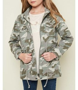 Hayden Los Angeles Kids Camo Cargo Jacket 1488