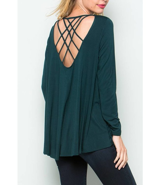Cage Long Top 7905