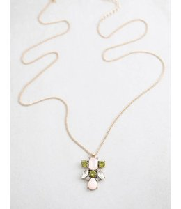 Lovoda Formal Stone Necklace 047