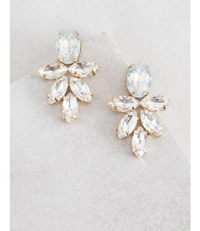 Formal Crystal Earring 397