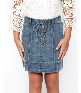Kids Lace Up Skirt 2078