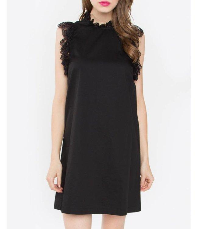 Lace Detail Dress 11330