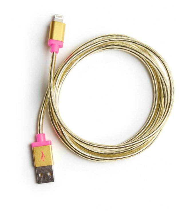 "60"" Charging Cord - Gold"