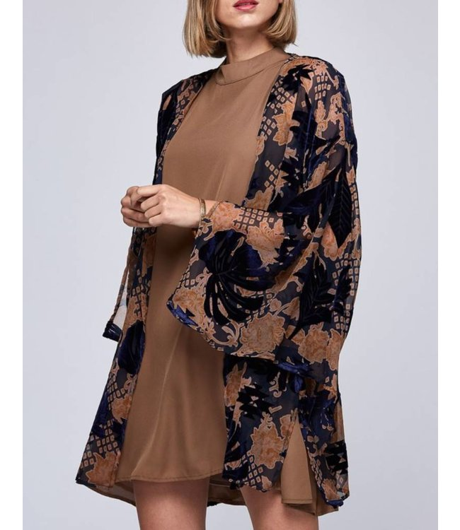 Velvet Kimono 24072