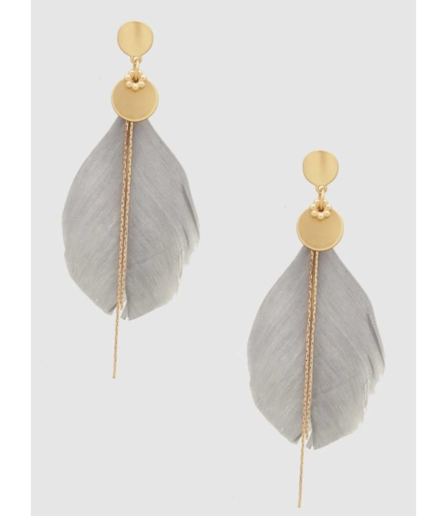 Feather Earrings 10437