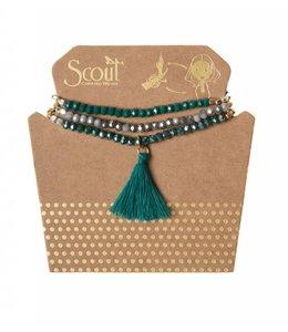 Scout Tassel Wrap 008 Teal Multi