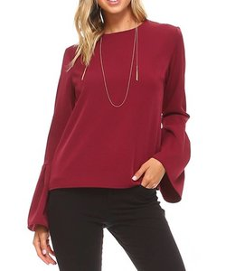 Bell Sleeve Top 1042542
