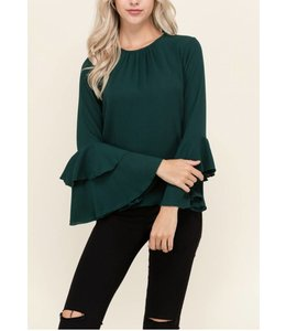 Layered Sleeve Top 10426