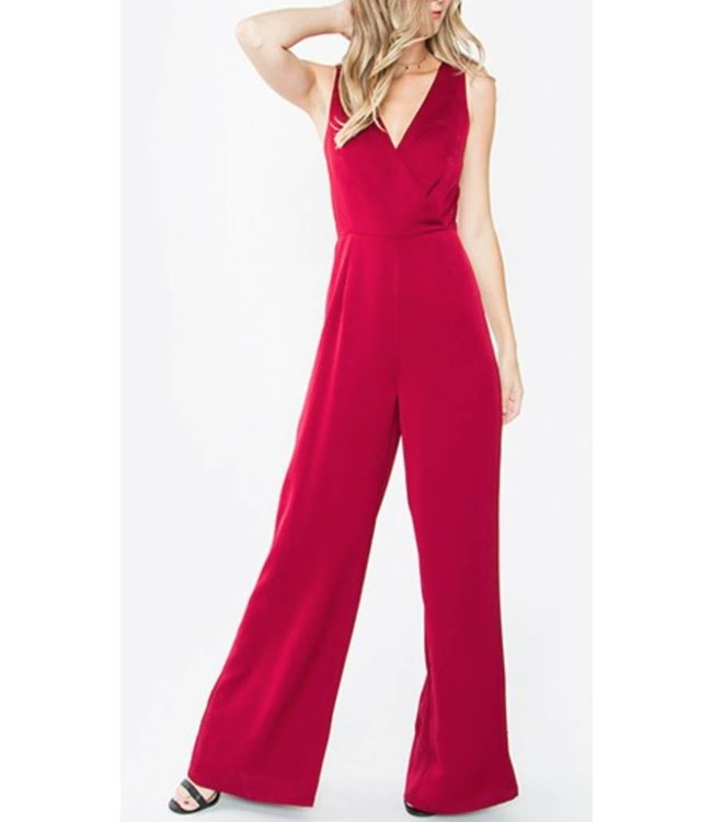 Crossover Jumpsuit 6462