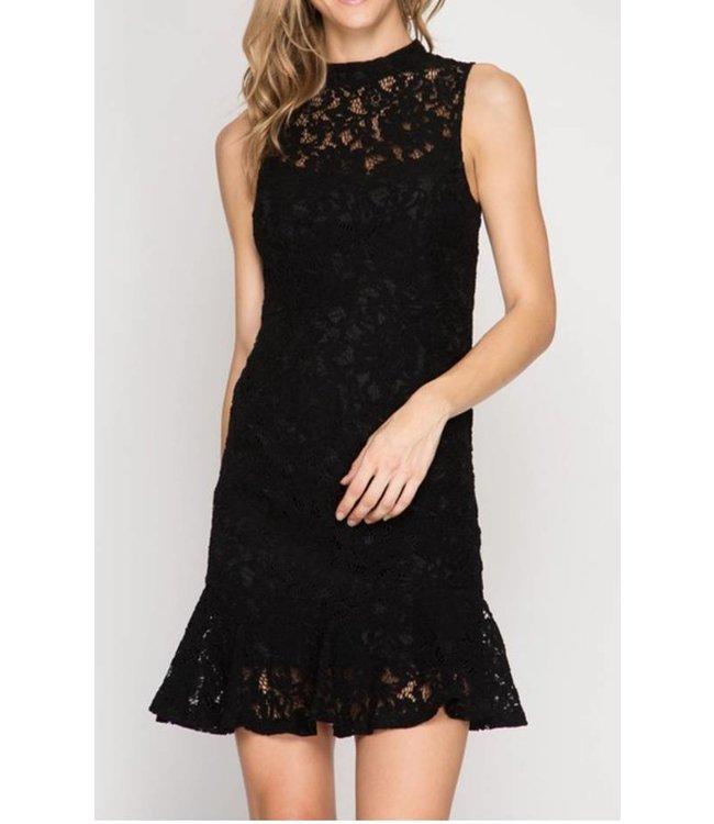 Lace Mermaid Dress 5919