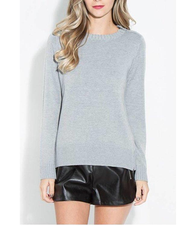 Side Zip Sweater 14124