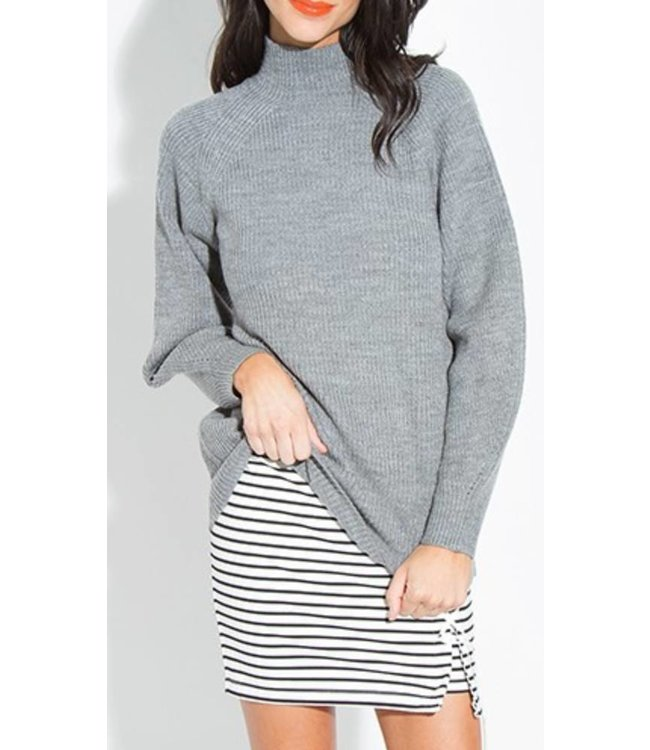 Ribbed Pullover 14059