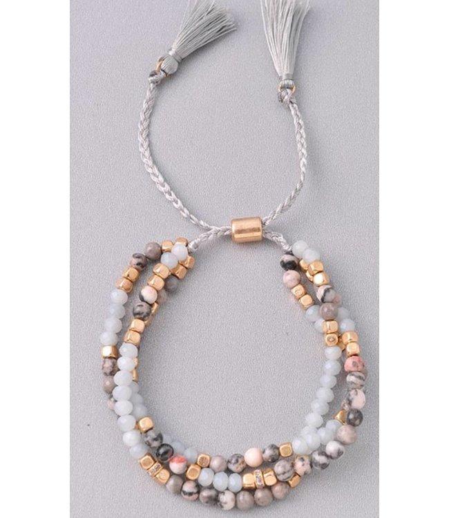 Beaded Wrap Bracelet 6257
