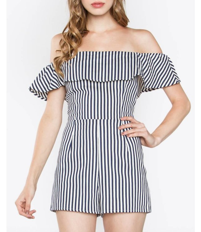 Off the Shoulder Romper 5388