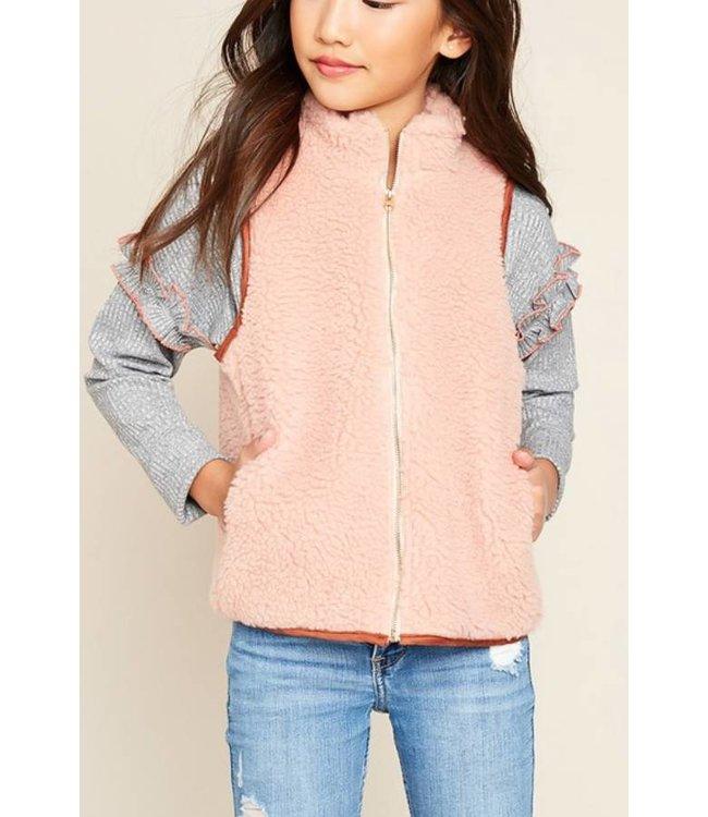 Kids Sherpa Vest 4110