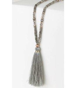 Tassel Pendant Necklace 6261