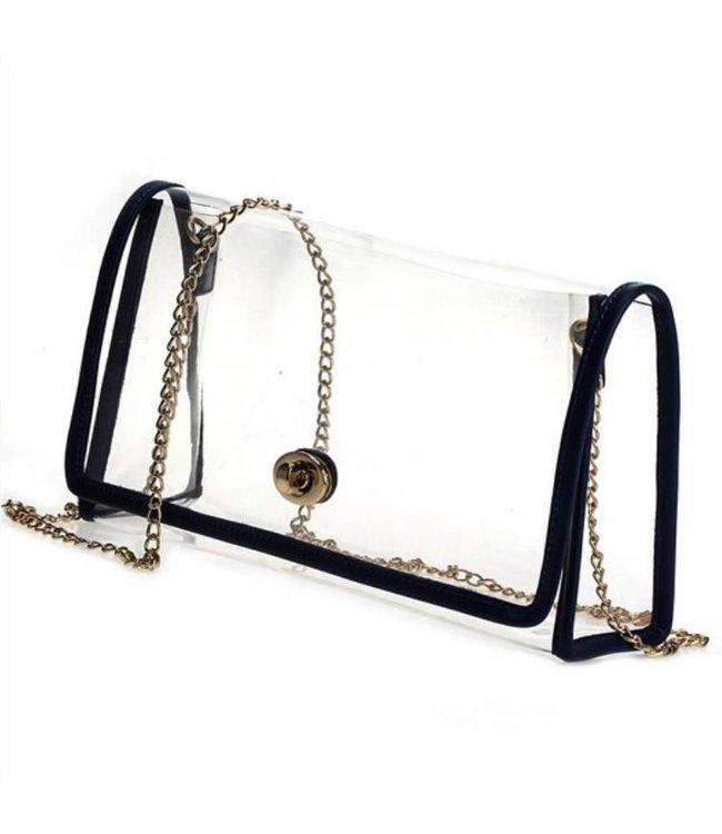 Clear Messenger Bag 3055