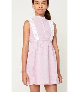 Kids Button Up Dress 5258