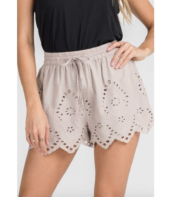 Embroidered Shorts 2094