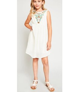 Kids Embroidered Swing Dress 5908