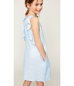 Kids Ruffle Detail Dress 5864