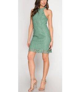 Blackless Lace Dress 3987
