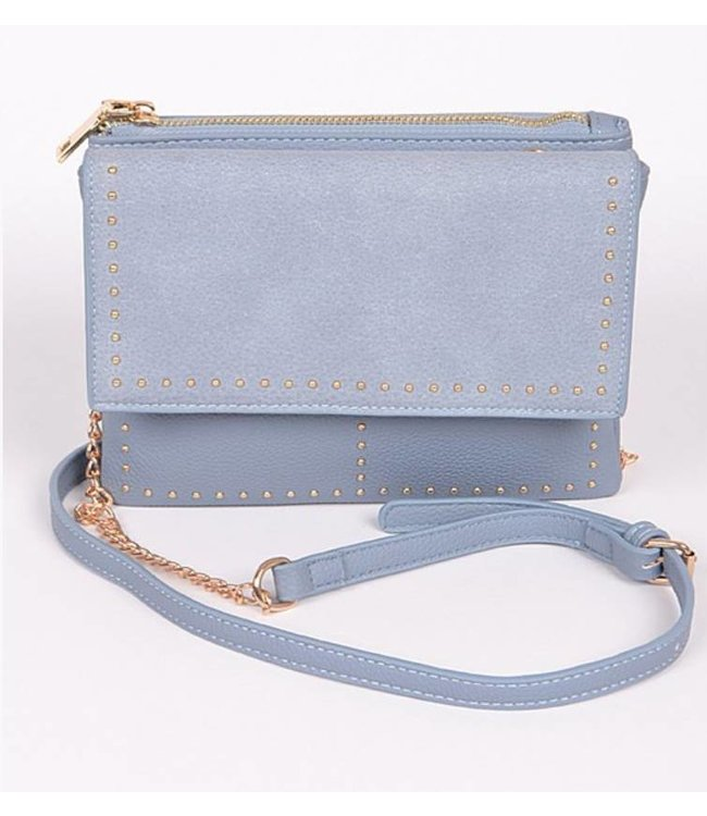 Double Flap Envelope Clutch 5978