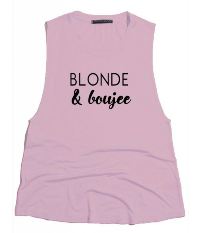 Blonde and Boujee Tank 3359