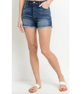 JB High Waist Back Pocket Short 366