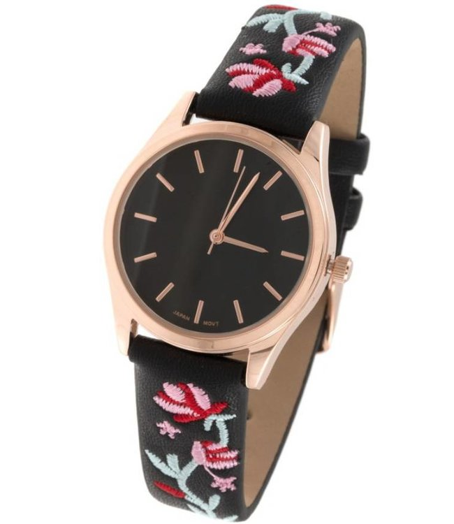 Embroidered Watch 10144