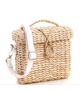 LPS Square Straw Tote 3054