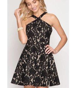 SS Fit & Flare Dress 66941