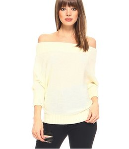 TC Off the Shoulder Sweater 2222